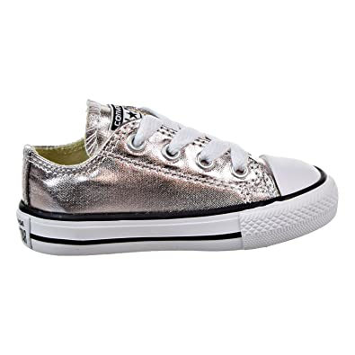 Converse Chuck Taylor s All Star Ox Infant Shoes Rose Quartz White Black  757661f ( 92708c12e