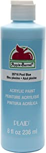 Apple Barrel Acrylic Paint in Assorted Colors (8 oz), 20716 Pool Blue