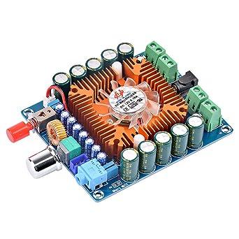 Amazon.com: TDA7850 Amplificador AMP 50W4 HiFi 4 canales ...