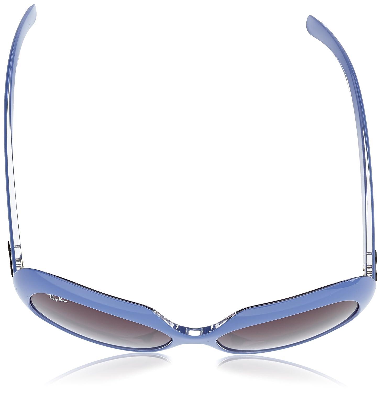 RayBan Damen Sonnenbrille RB4208, Gr. One size (55), Violett ...