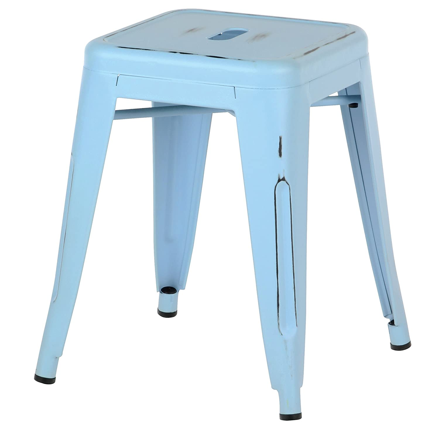 Amazon.com: Design Tree Home Tolix Stool Industrial, 18\