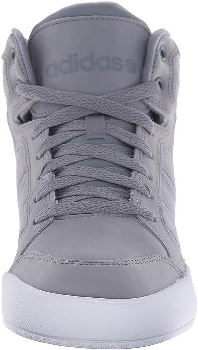 Adidas NEO Raleigh Mid Lace Up Scarpe, GrigioGrigioBianco