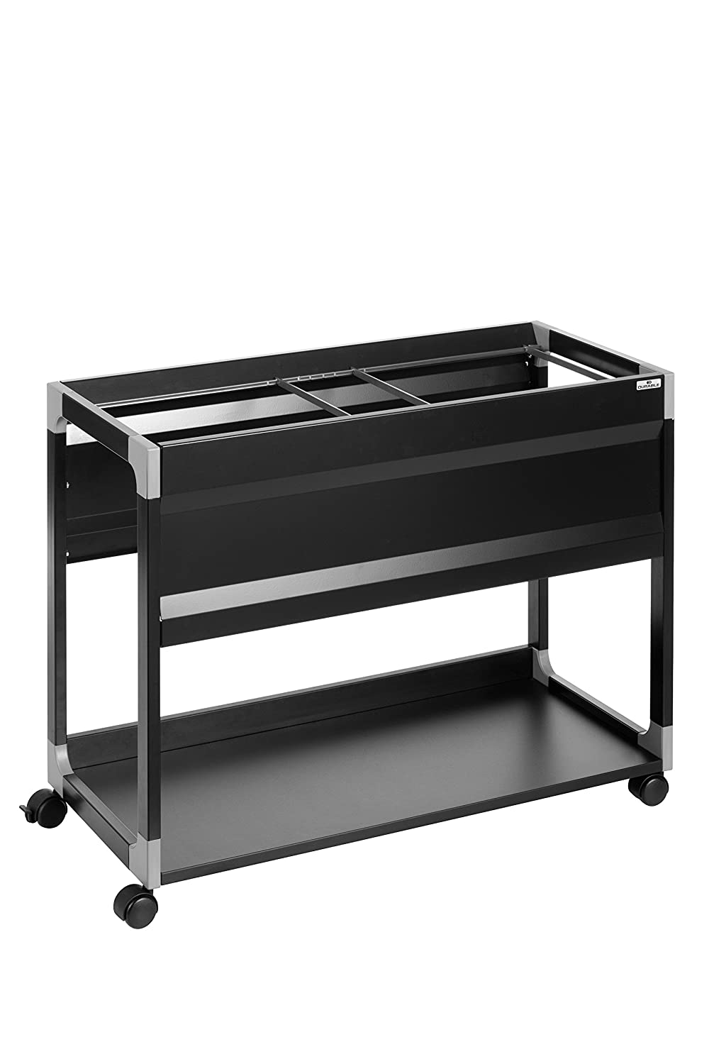 Durable 378501 System File Trolley 100 Multi Black