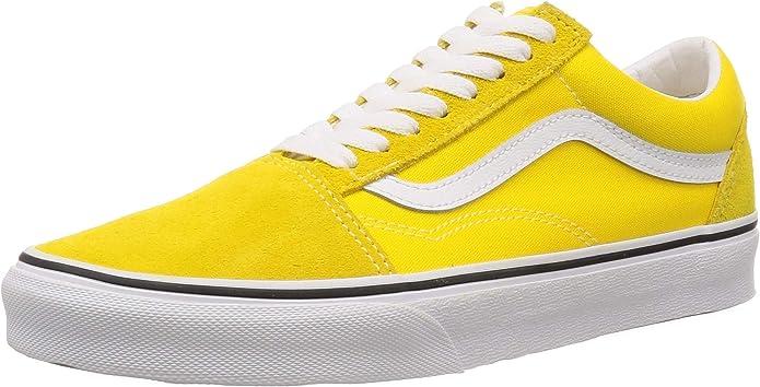 Vans Old Skool Sneakers Damen Herren Unisex Gelb