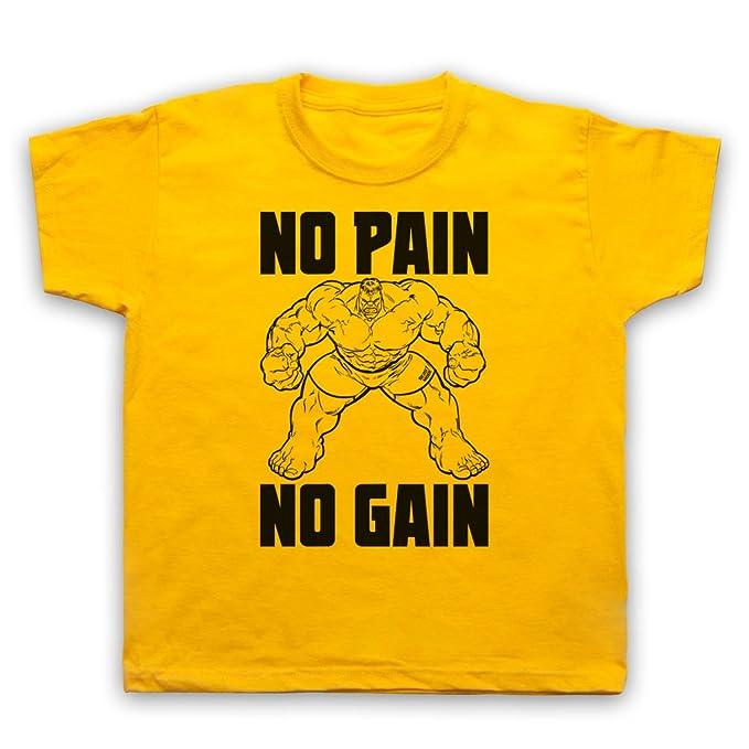 My Icon Art & Clothing No Pain No Gain Bodybuilding Slogan ...