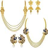 Sukkhi Jewellery Sets for Women (Golden) (410CB1950)