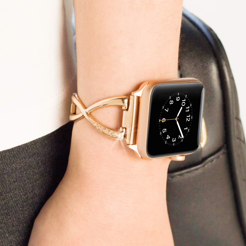 Amazon.com: Pantheon - Correa de reloj compatible con Apple ...
