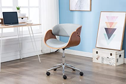 Porthos Home Lydia Office Chair, Stylish Home Office Desk Chair, Height  Adjustable, 360