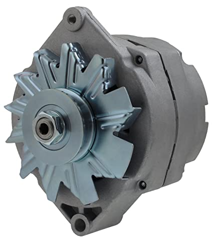 amazon com: premium high output gm 1 wire alternator 120a with low speed  turn on big block or small block delco type: automotive