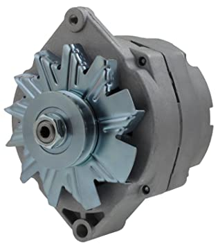 New GM 1 wire Self Exciting Alternator 12 Volt 120A! Low turn on speed  Delco 10SI Style for Street Rods Race Cars