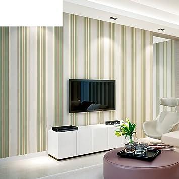 moderne minimalistische Tapeten/Vliestapete/Solide Streifen Tapete ...