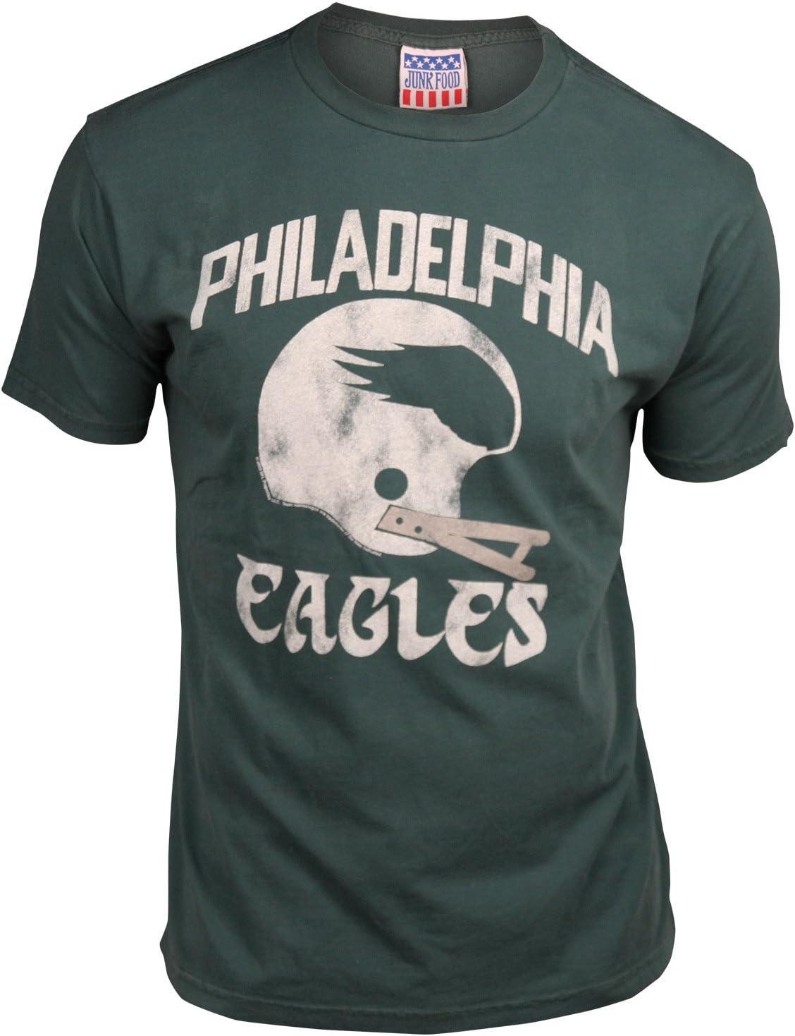 Philadelphia Eagles Men's Retro Vintage T-Shirt