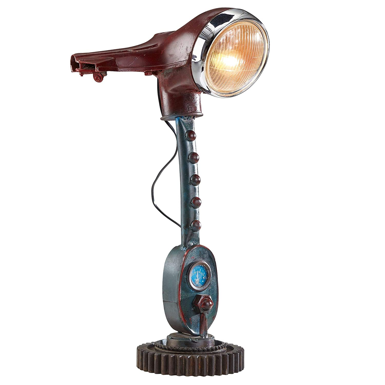 Finebuy Tischlampe Fb52136 Bunt 64 Cm Metall Stehleuchte Vintage