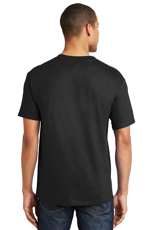 Hanes Men`s Beefy-T 9-Pack Short-Sleeve T-Shirt