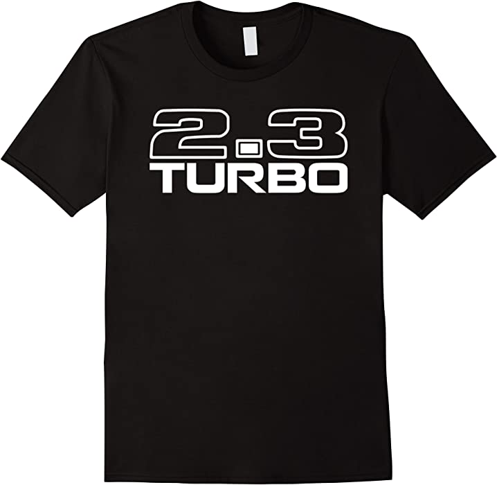 2.3 Turbo T-Shirt Turbo Coupe Merkur SVO