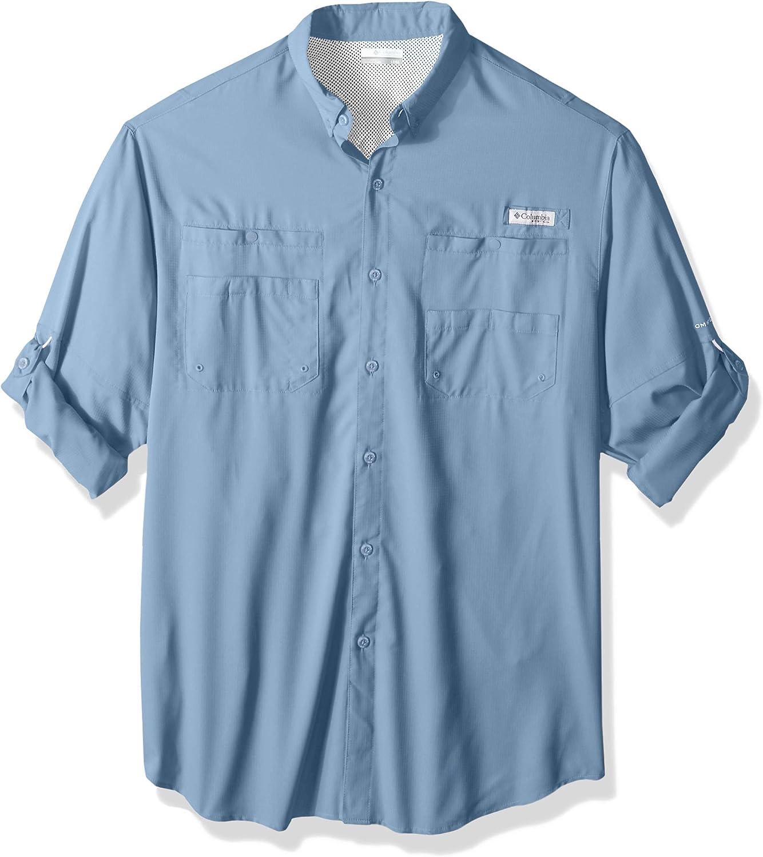 Columbia TamiamiTM II Camisa de Manga Larga Grande y Alta para Hombre: Amazon.es: Deportes y aire libre