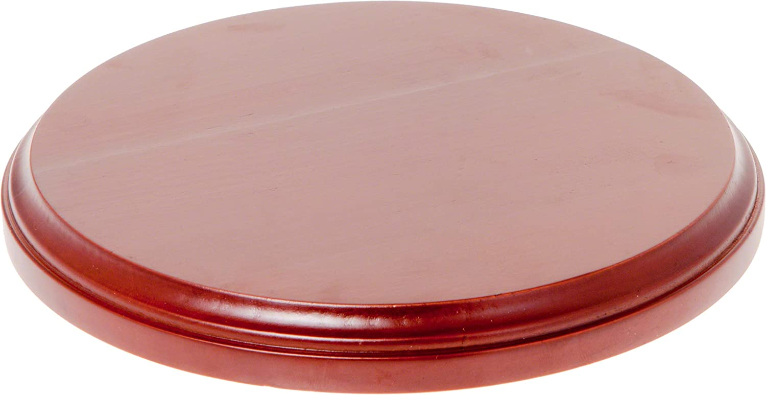 Plymor Brand Fruitwood Round Wood Display Base.75 H x 2 D