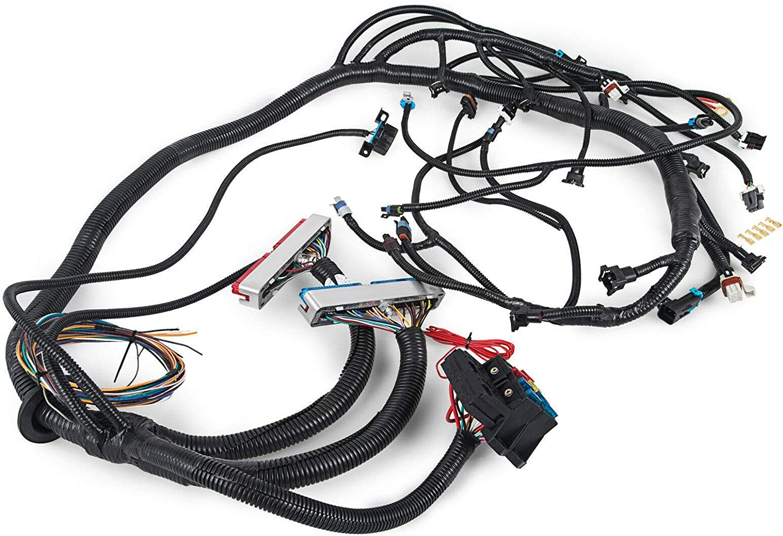 ls1 pcm wire harness blue green amazon com hpi 1997 2006 ls1 standalone harness 4 8 5 3 6 0  ls1 standalone harness 4 8 5 3 6 0