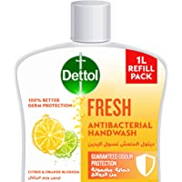 Dettol Fresh Handwash Liquid Soap Refill for effective Germ Protection & Personal Hygiene (protects against 100 illness…