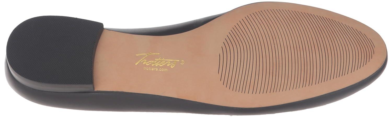 Trotters Women's Caroline Ballet Flat B019R1YGW0 12 B(M) US|Black