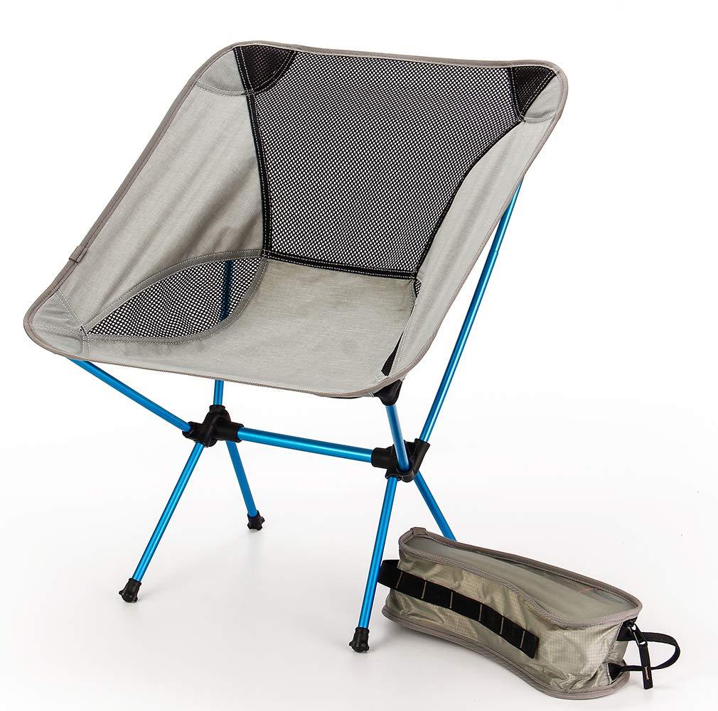DUBAOBAO Camping Stuhl Outdoor Klappstuhl Camping Ultra Light Portable Aluminium Angeln Stuhl Geeignet Für Den Heimgebrauch Und Outdoor-Aktivitäten