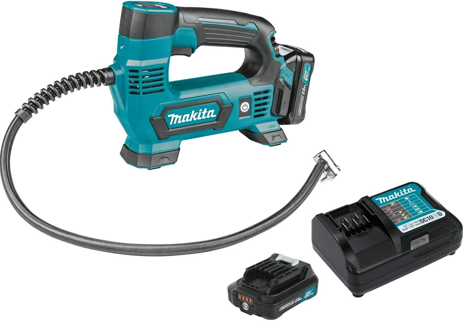 Makita MP100DWRX1 12V Max CXT Lithium-Ion Cordless Inflator Kit 2.0Ah