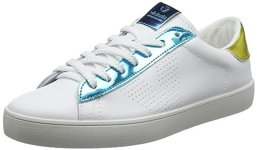 Victoria Deportivo Piel Metalizado, Zapatillas Unisex Adulto: Amazon.es: Zapatos y complementos