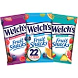 Welch's Fruit Snacks, Variety Pack with Mixed Fruit, Island Fruits & Berries 'n Cherries, Gluten Free, 2.25 oz Bags (Pack of