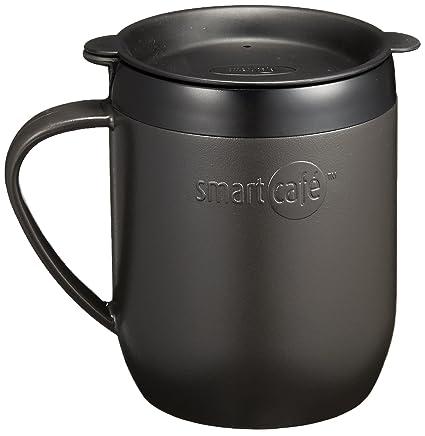 ed71e6dfea4 Smart Cafe Hot Mug Black (japan import): Amazon.co.uk: Kitchen & Home