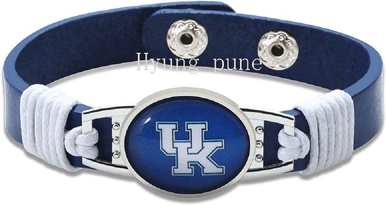 HPS Kentucky Wildcats Leather Bracelet