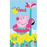 termana Peppa Pig Toalla · Peppa Pig Beach Toalla de playa · palmera, playa &