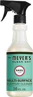 product image for Mrs. Meyer's Clean Day Multi-Surface Everyday Cleaner, Cruelty Free Formula, Basil Scent, 16 oz