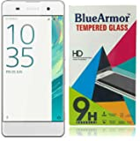 BlueArmor HD Clear Tempered Glass Screen Guard Protector for Sony Xperia XA Dual