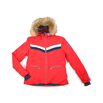 Peak Mountain - Chaqueta Mujer ATALANTE-roja-XL: Amazon.es ...