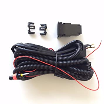 LEDIN 899 880 12V 30A Fog Light Wiring Harness Relay Kit ON/OFF Switch on