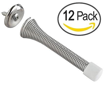 Delicieux Spring Door Stoppers Door Stops  12 PACK   3 ¼ Inc Heavy Duty Door Stop
