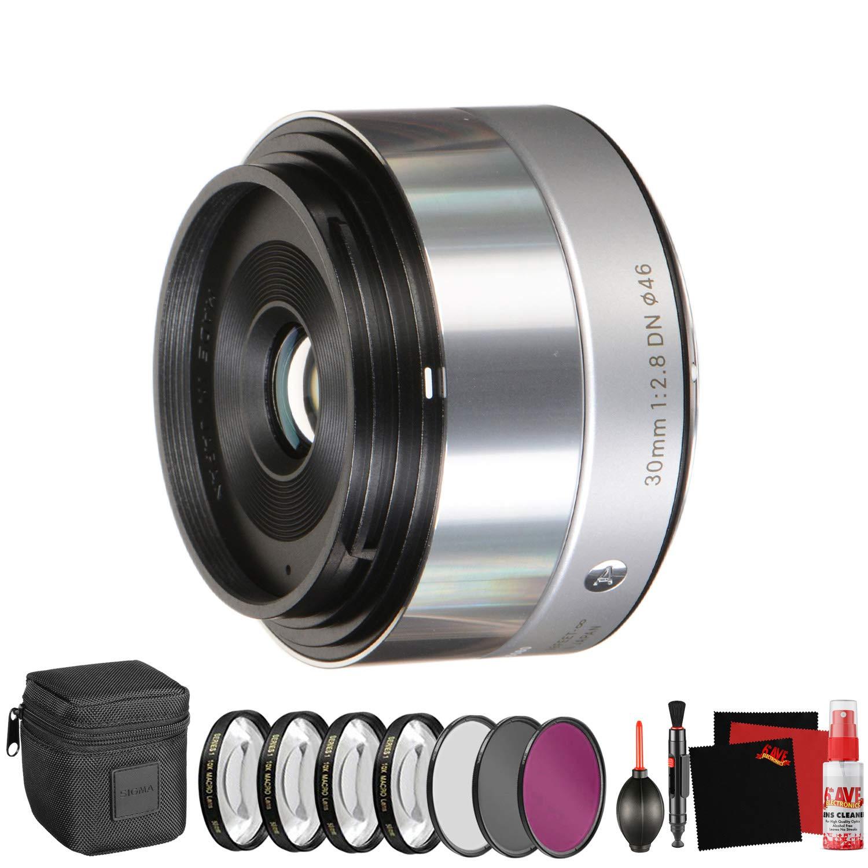 Sigma 30mm f/2.8 DN Lens for Micro Four Thirds Cameras (33S963)