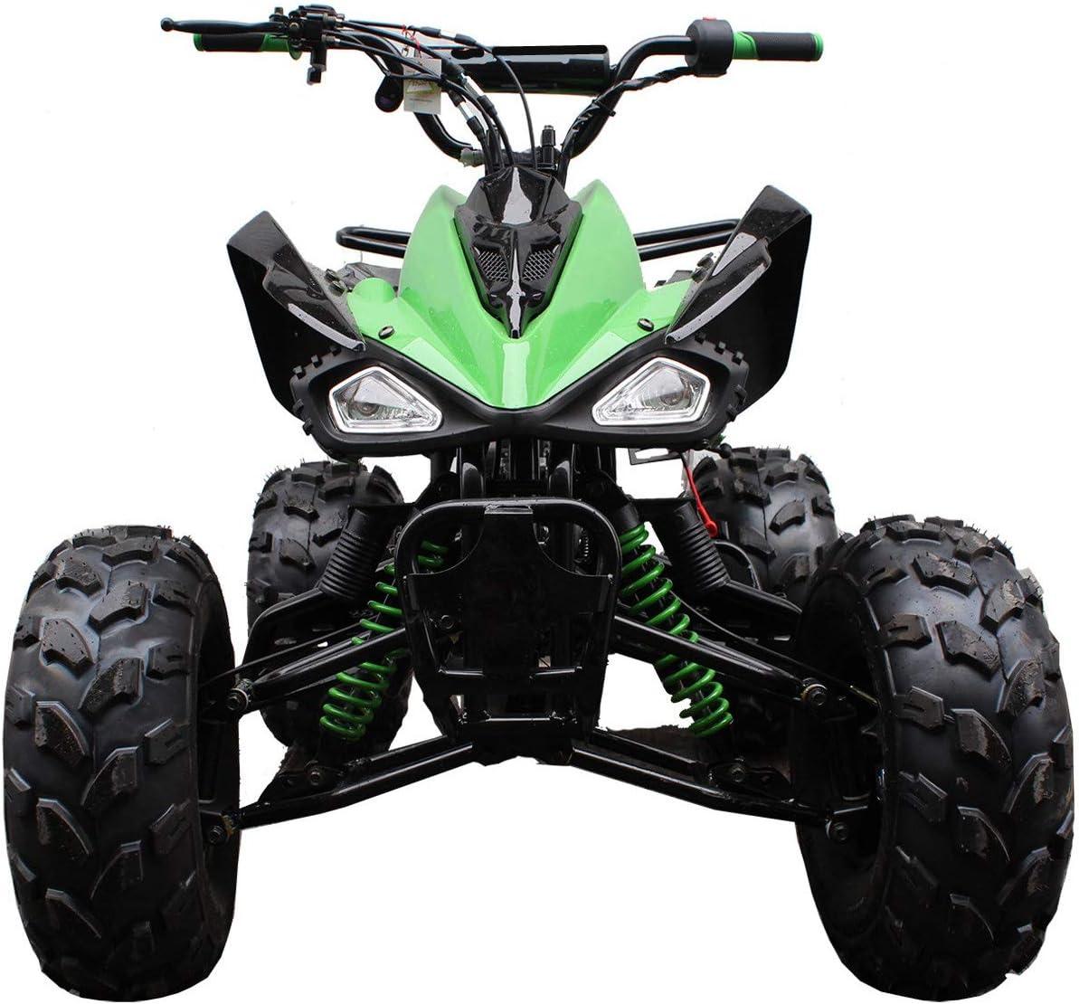 Blue X-PRO 125cc ATV Kids ATV Youth ATV Quad 4 Wheelers Semi-Automatic with Reverse