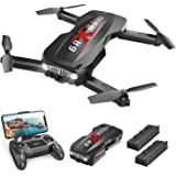 Holy Stone HS160 Pro Foldable Drone with 1080p Full HD WiFi Camera for Adults and Kids, with 2 Batteries 24 Mins Play…