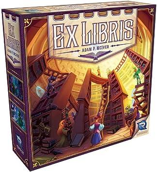 Renegade Game Studios RGS00577 Ex Libris Juego de Mesa: Amazon.es: Juguetes y juegos