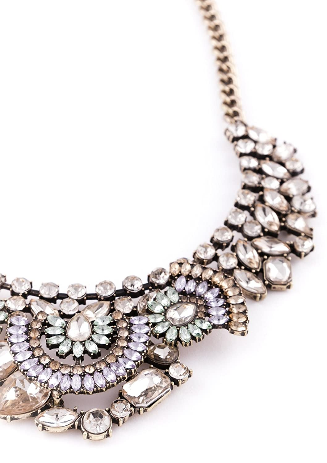 Amazoncom Vintage Statement Necklace in Gold XXL Necklace in