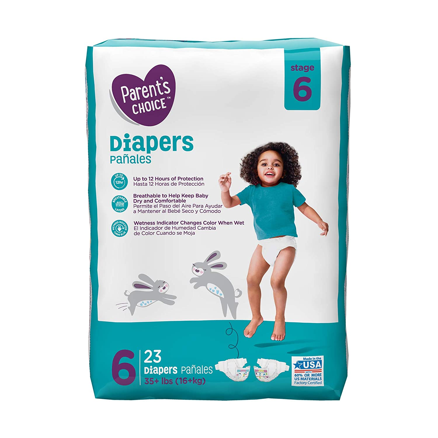 Amazon.com : Diapers (Choose Your Size) (Size 6 (23 Ct)) : Baby
