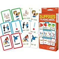 Junior Learning Suffixes Flash Cards