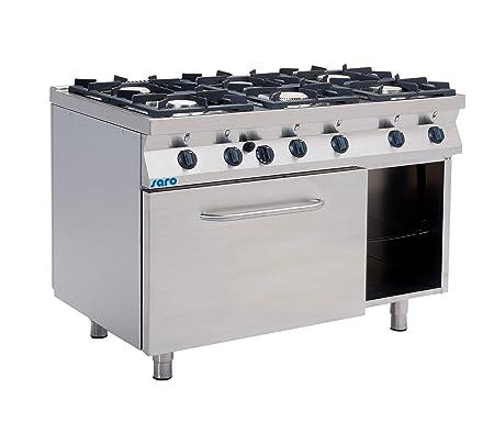 Saro Cocina de gas con gas horno Modelo F7/kug6ln: Amazon.es: Hogar