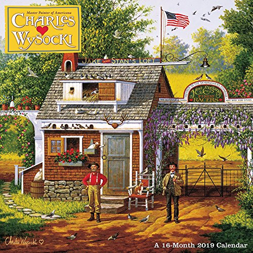 Book cover from Charles Wysocki Wall Calendar (2019) by Day Dream