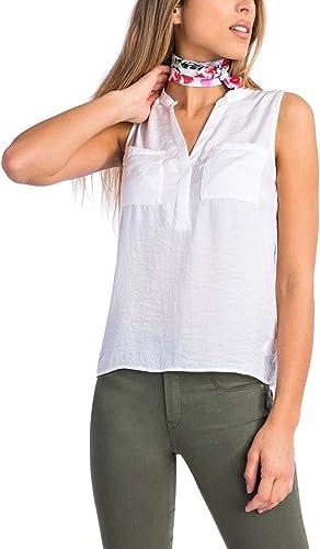 Tiffosi - Camisas - para mujer blanco M: Amazon.es: Ropa y accesorios