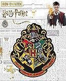 """Ata Boy Harry Potter Hogwarts Crest 3"""" Full Color"""