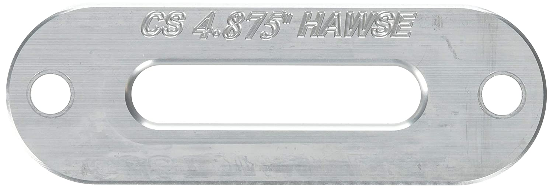 Custom Splice Silver SXS//UTV Aluminum Fairlead Hawse 4.0 WARN 4000 Winch AmSteel 6 inch Bolt Pattern