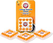 Arm & Hammer Sink Garbage Disposal Cleaner, Freshener & Deodorizer Capsules Citrus Scent, with Power of Baking Soda - 48 Coun