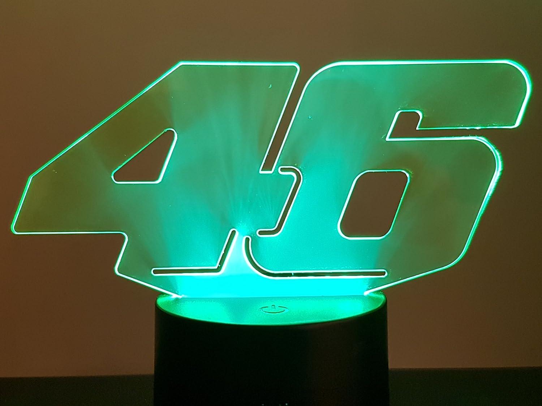 3D-LAMPE 46 Valentino ROSSI